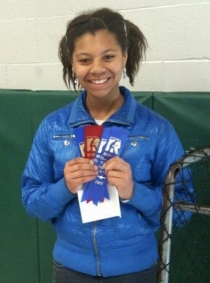 Young champion Camry Rogers