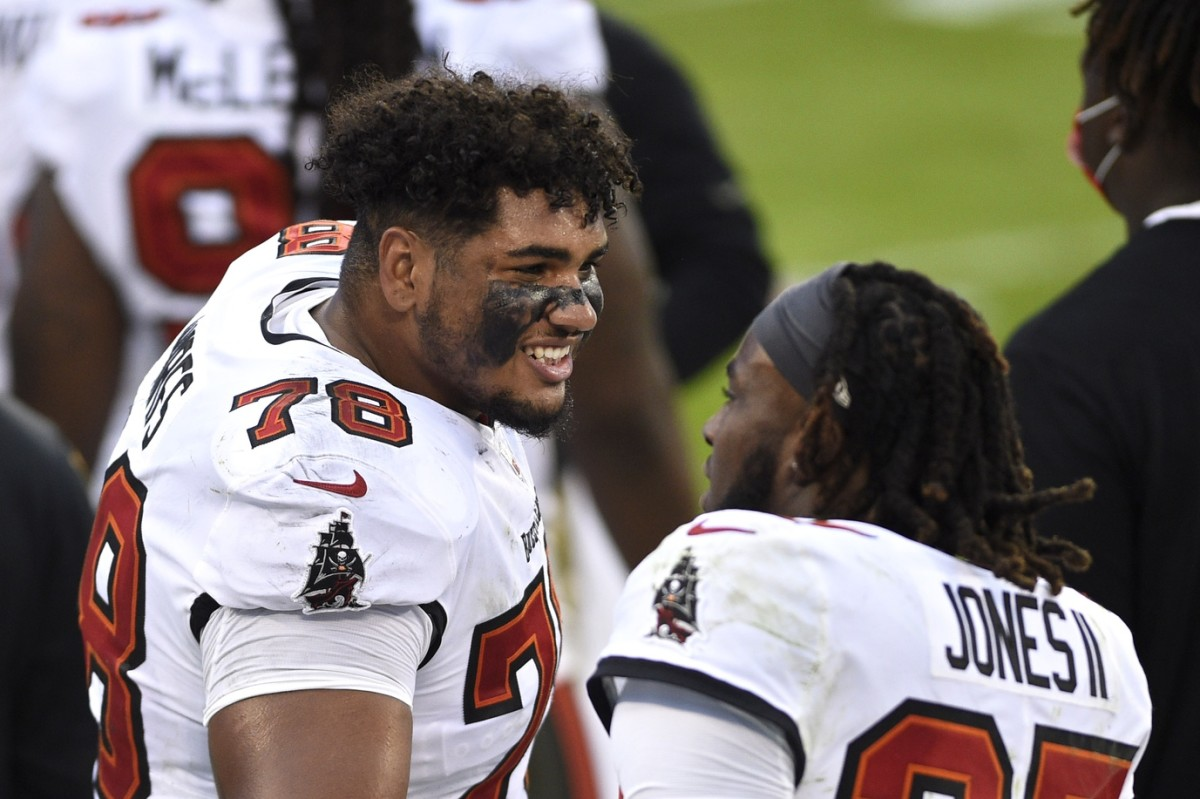 Will Tristan Wirfs and the Bucs offensive line pick up where they left off in the postseason?