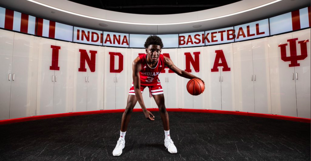 Kaleb Banks, a 6-foot-8 forward from Fayetteville, Ga., committed to Indiana on Friday.