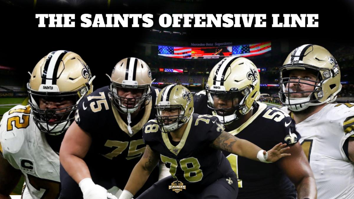 Saints Offensive Line