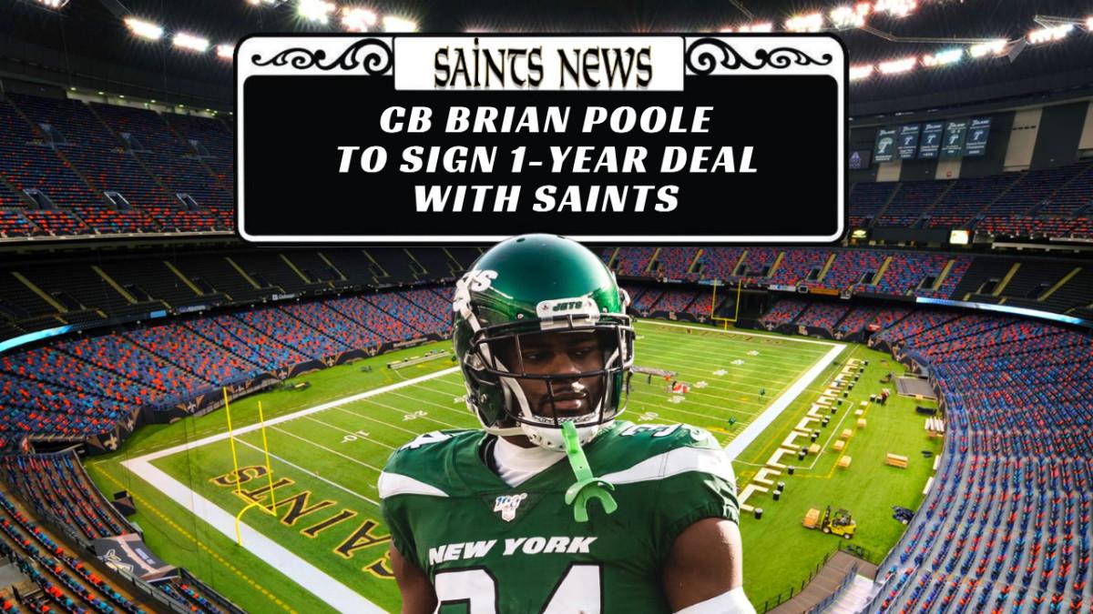 Saints Sign Poole