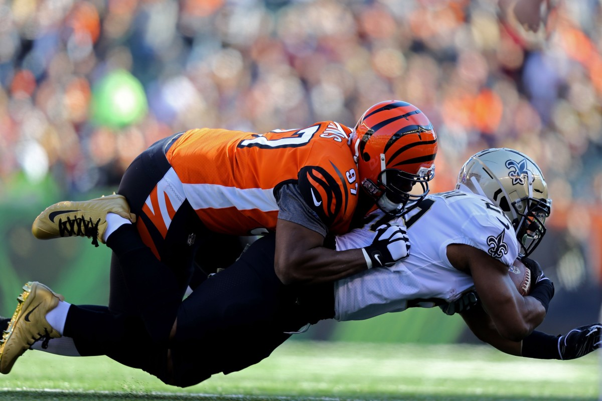 Geno Atkins is a popular name Saints fans are wanting on the roster with Onyemata out