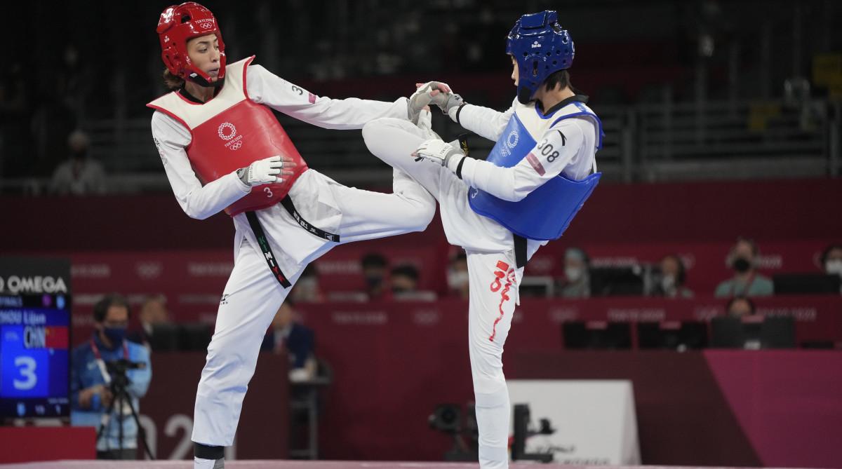 Kimia Alizadeh-olympics