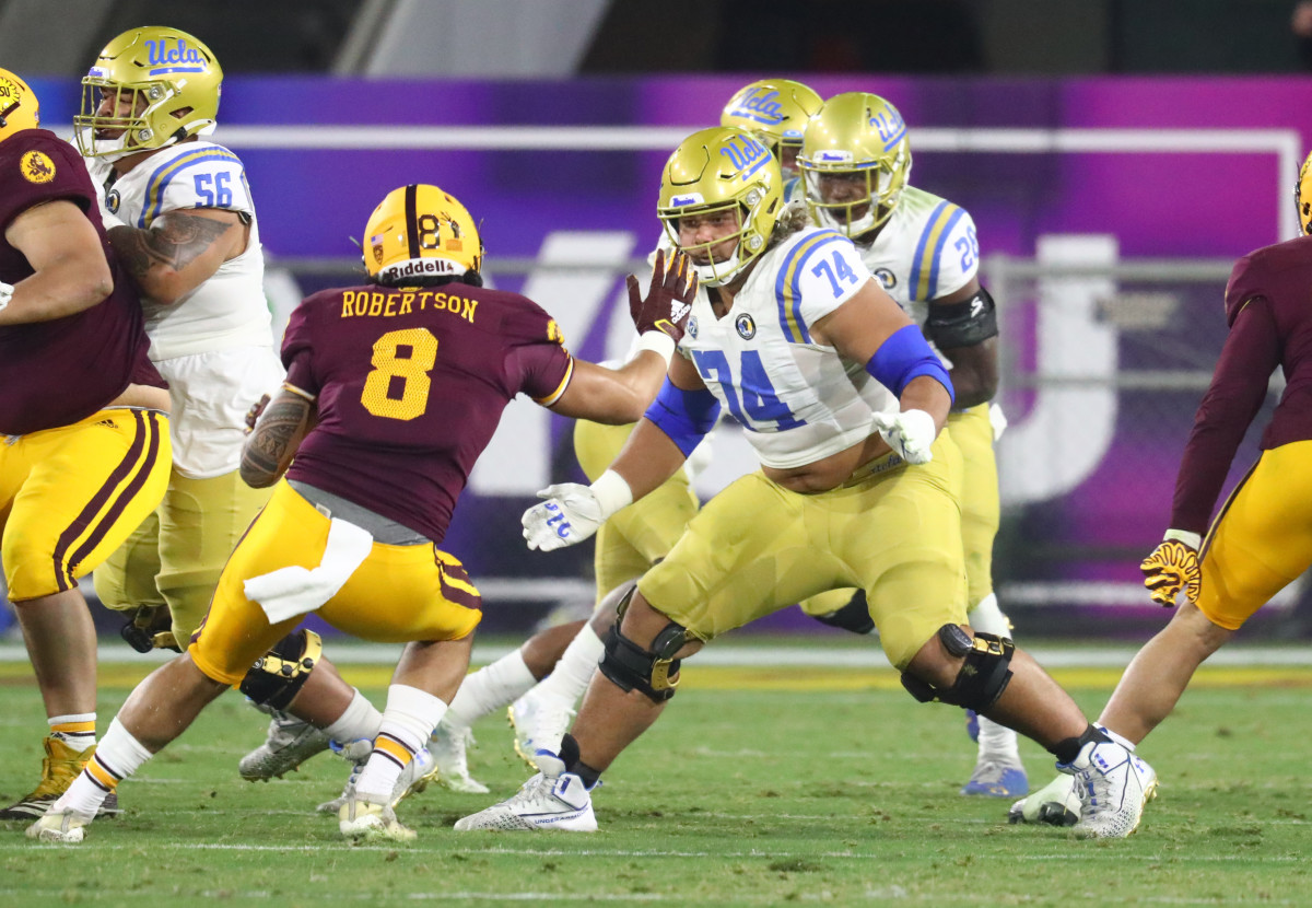 UCLA's Sean Rhyan already boasts NFL-level technique and athleticism.