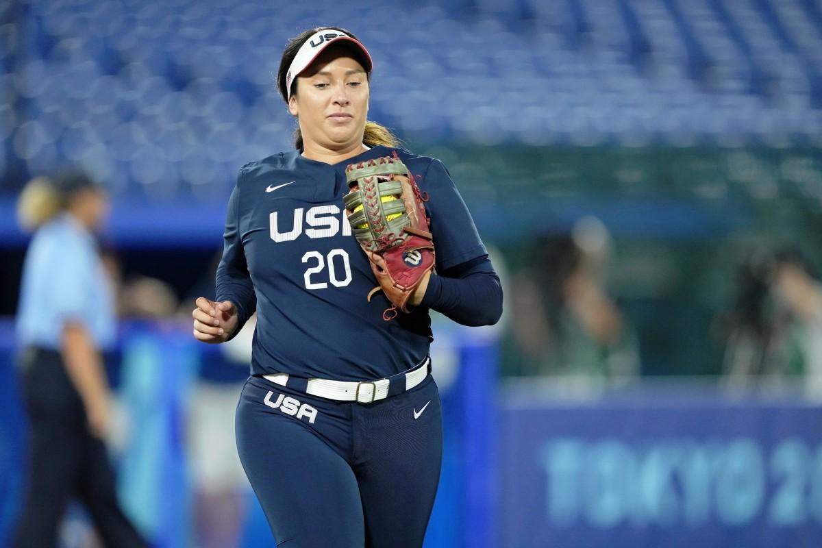 Valerie Arioto. Photo by Kareem Elgazzar-USA TODAY Sports