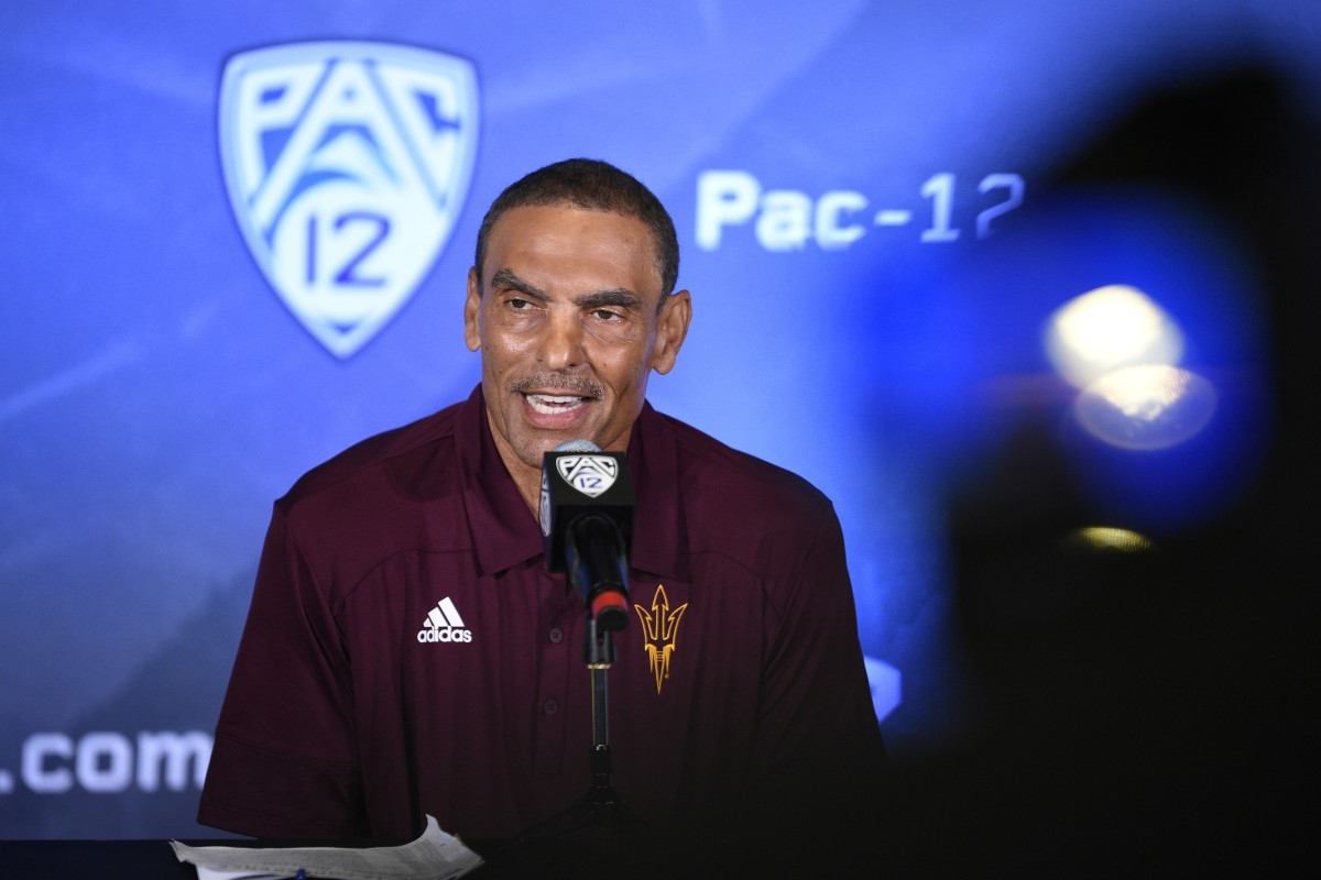 Pac-12 Media Day: Herm Edwards Speaks on NIL, NCAA Investigation and More
