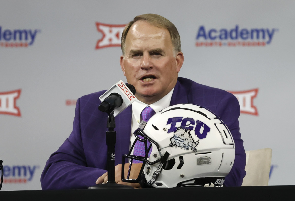 Gary Patterson During Big XII Media Day