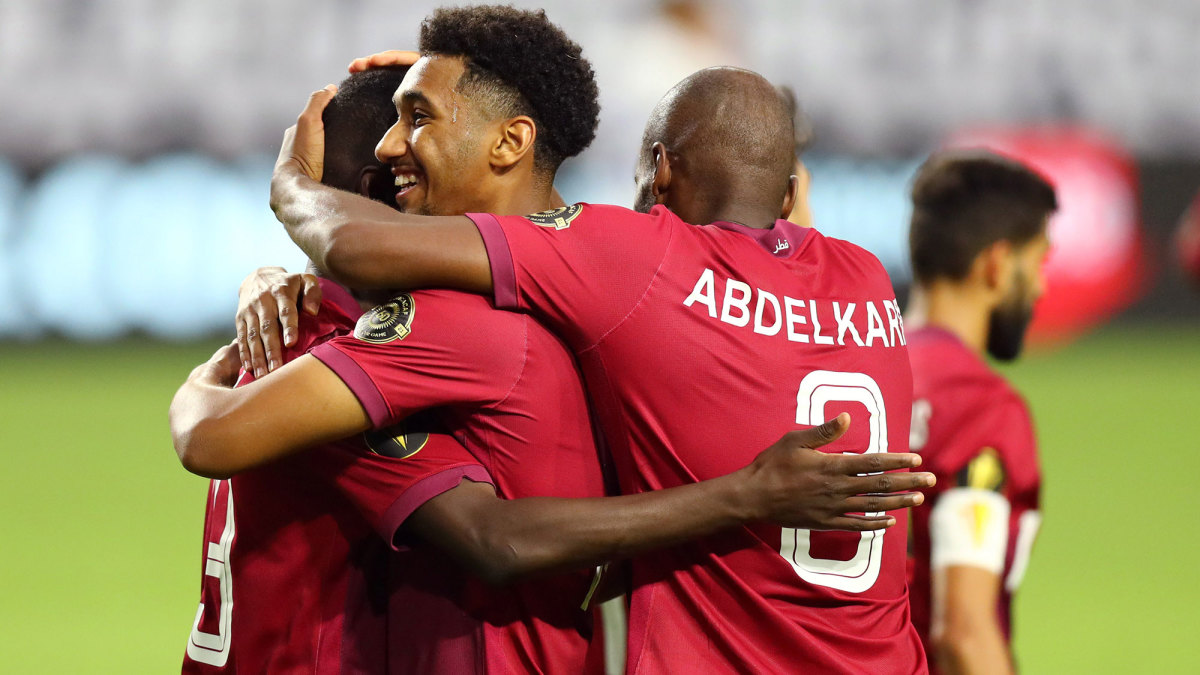Qatar has reached the Gold Cup semifinals