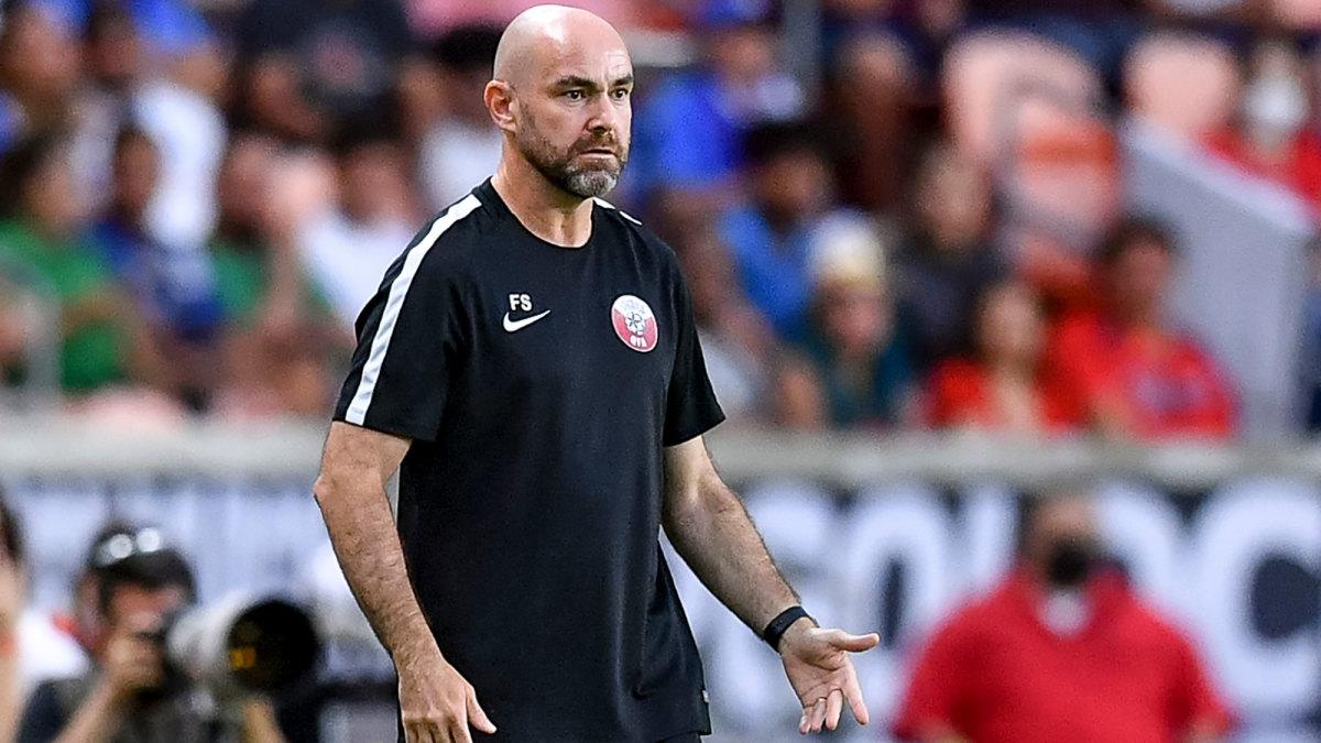 Qatar manager Felix Sanchez