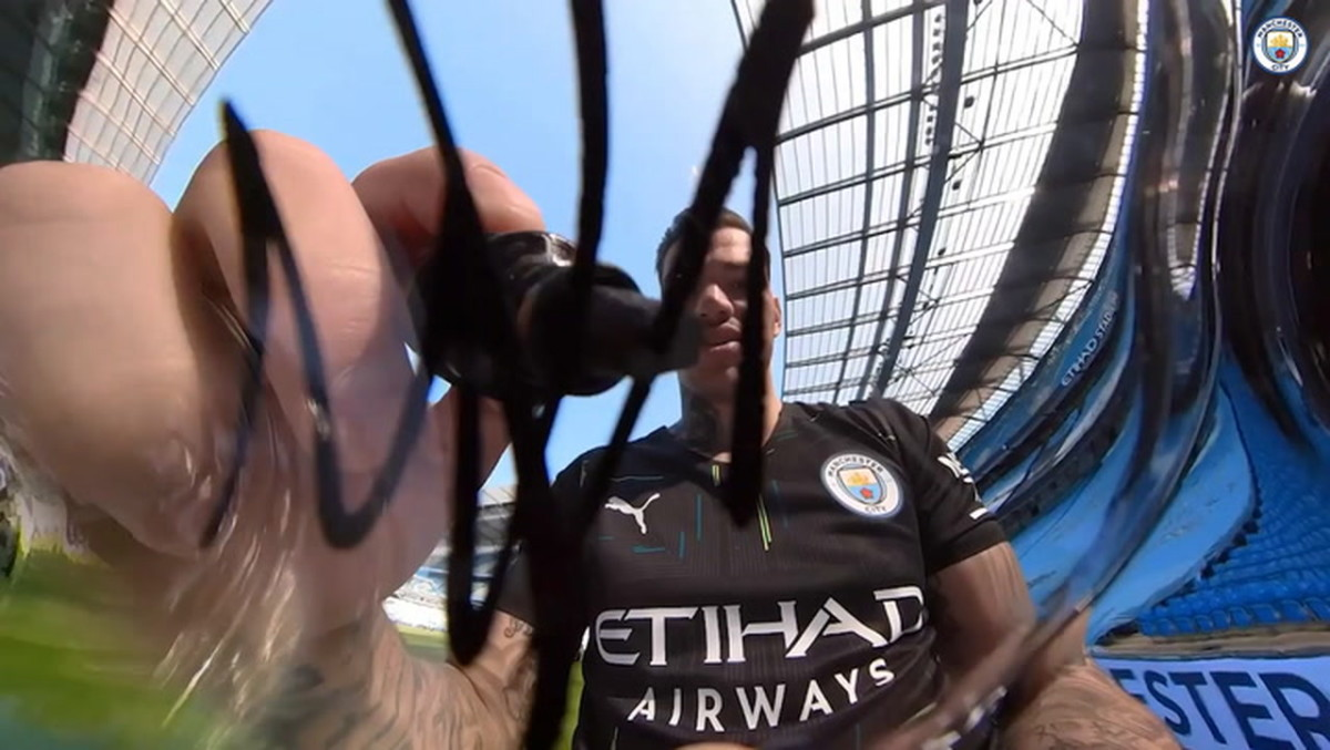 Man City Unveil 2021 22 Away Kit Soccer Onefootball On Sports Illustrated