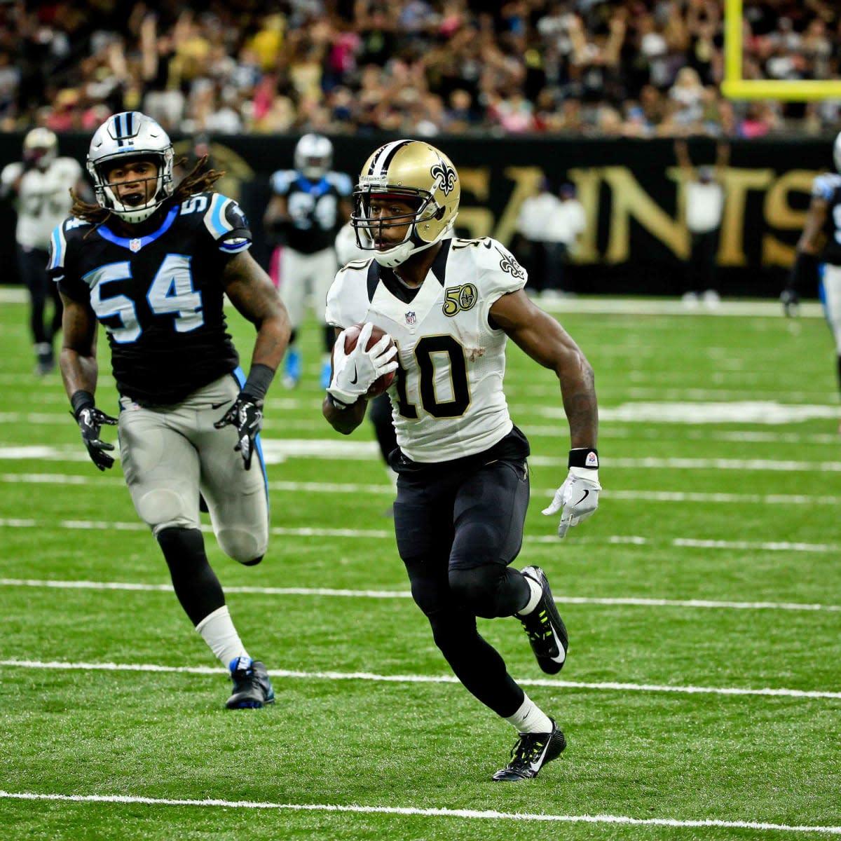 Former New Orleans Saints wide receiver Brandin Cooks (10). Credit: si.com