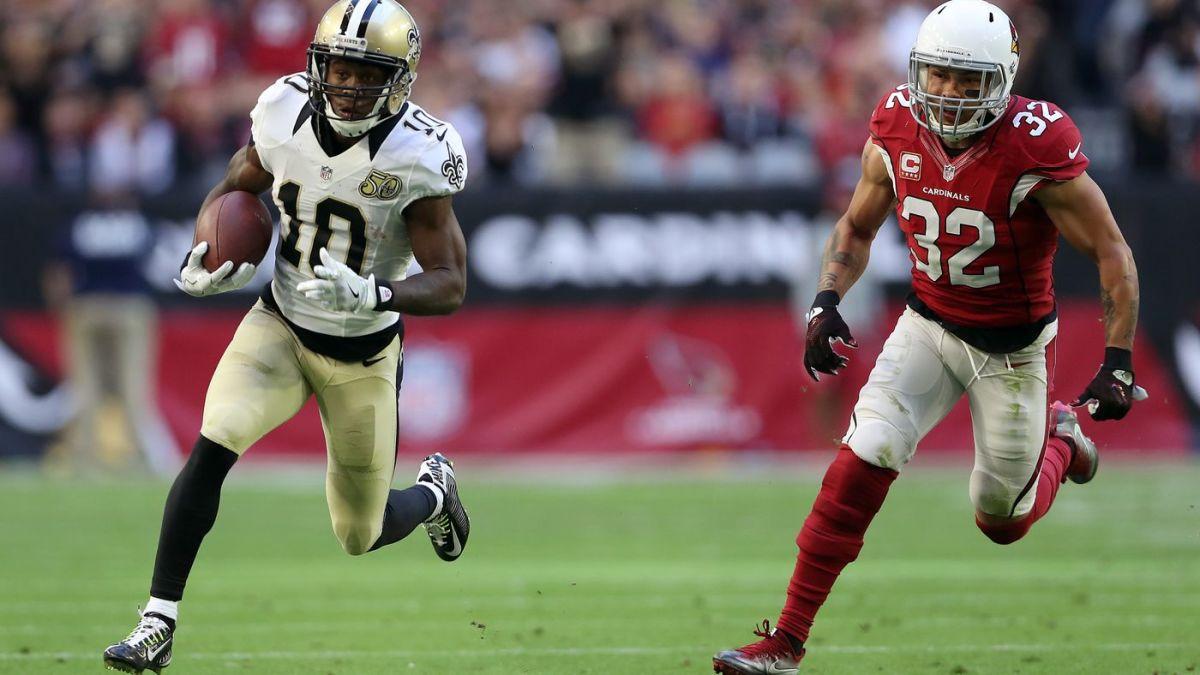 Former New Orleans Saints wide receiver Brandin Cooks (10). Credit: patspulpit.com