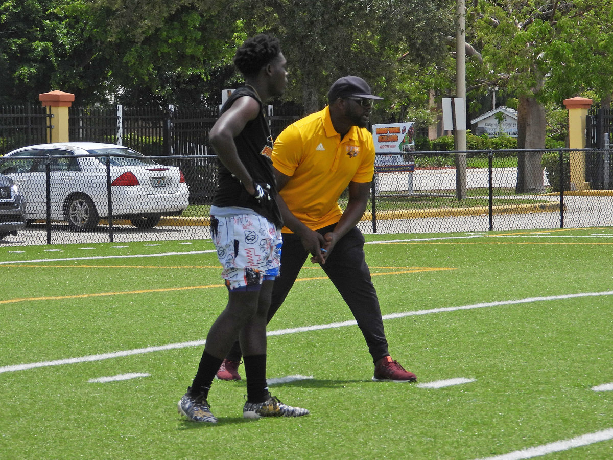 Fort Lauderdale football workout