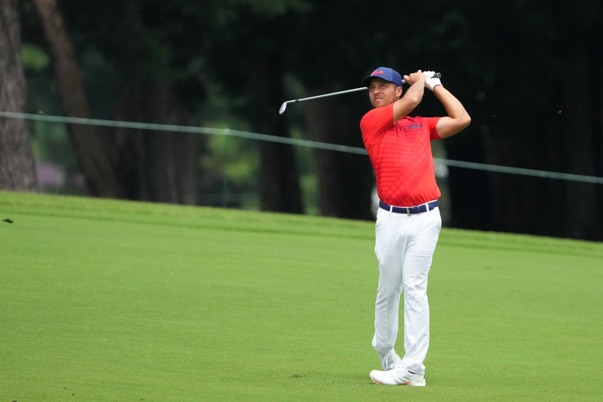 Xander Schauffele, ranked No. 5 in the world, holds his first 36-hole lead since February.