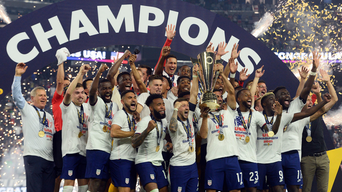 The USMNT wins the Concacaf Gold Cup
