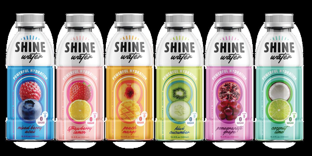 Bottles of ShineWater