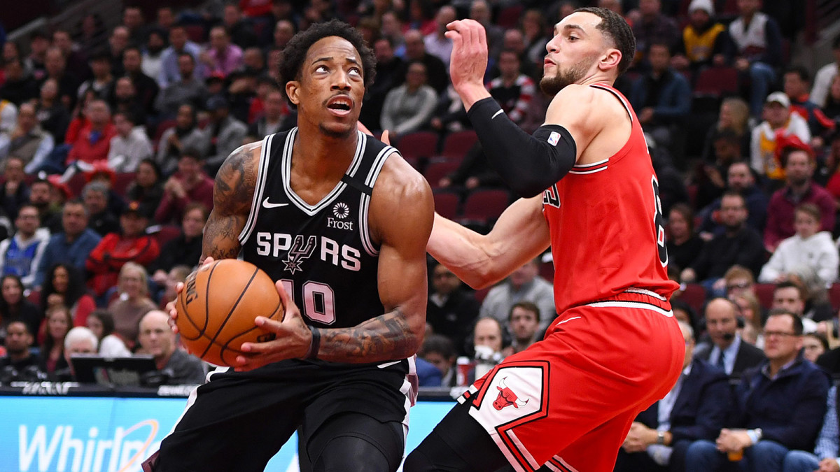 DeMar DeRozan is the NBA's overlooked star - Sports Illustrated