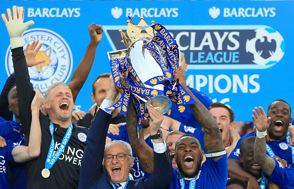 Leicester City wins the 2015-16 Premier League title