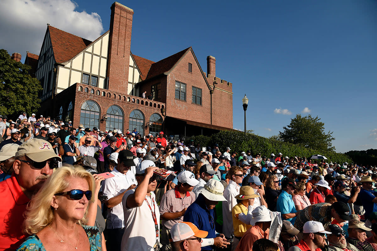 Someone will be $15 million richer when the Fed Ex Cup Playoffs end at Atlanta's East Lake Golf Club.USA Today