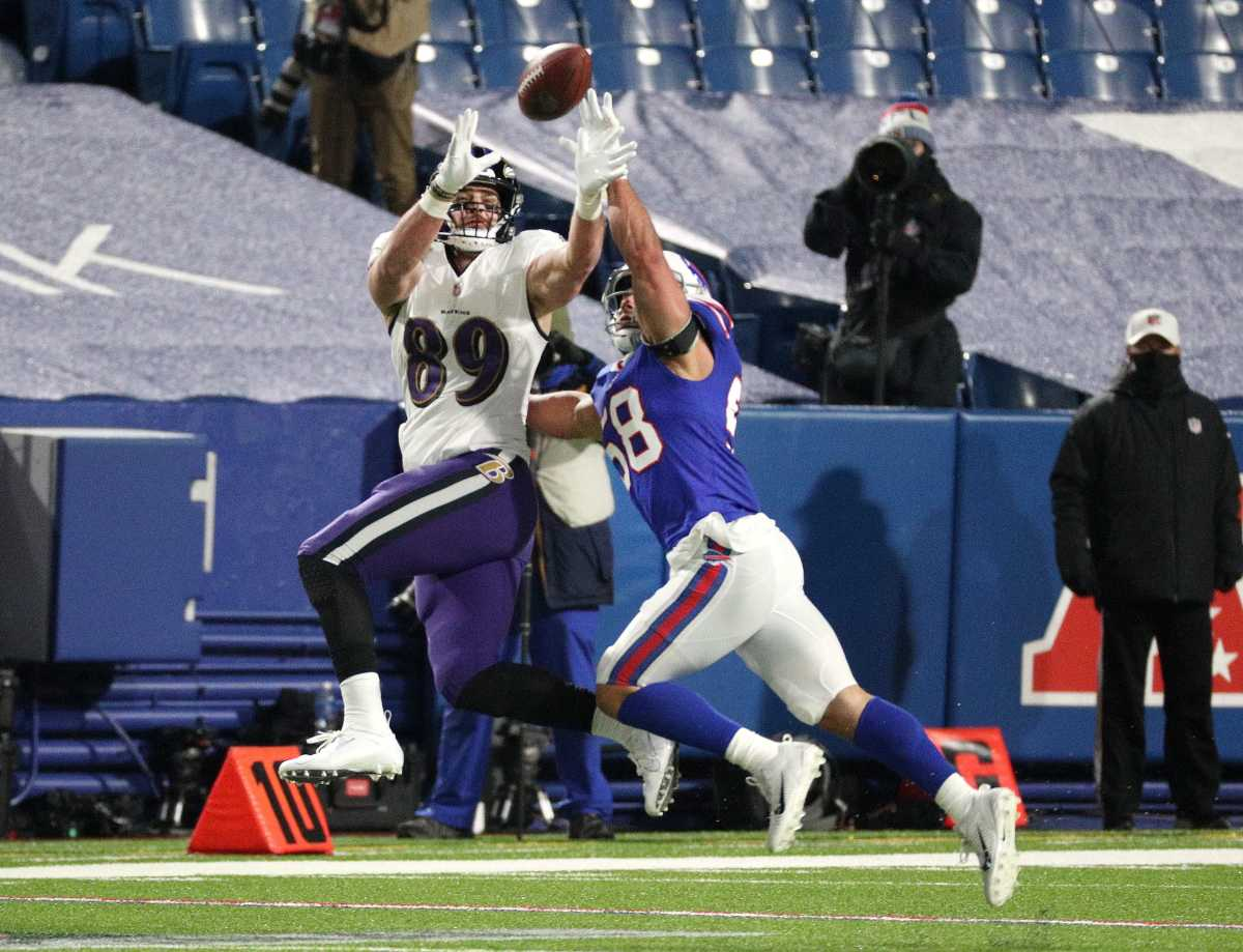 Although the Ravens boast a run-first offense, Mark Andrews is one of Lamar Jackson's top targets.