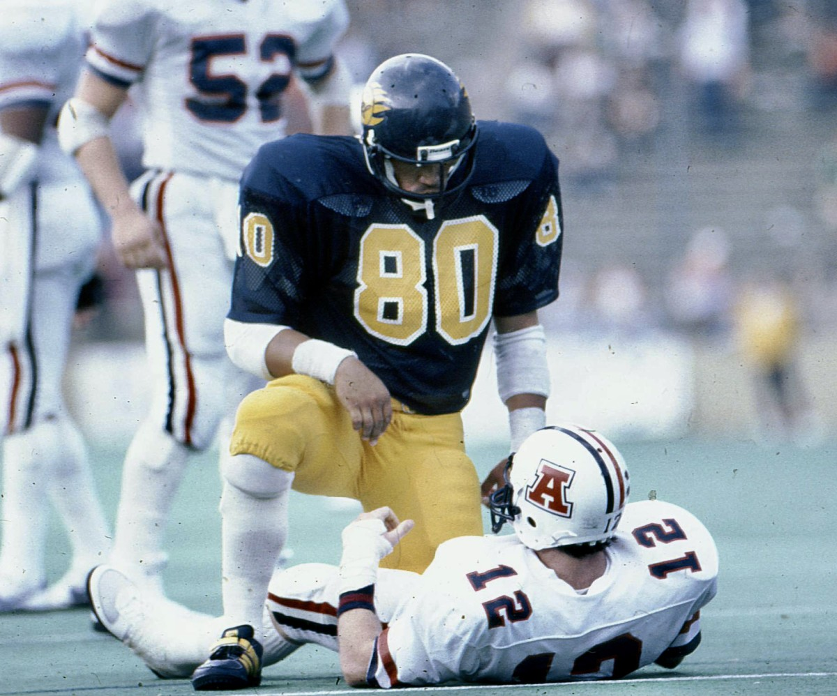 Ron Rivera during his All-American season at Cal in 1983