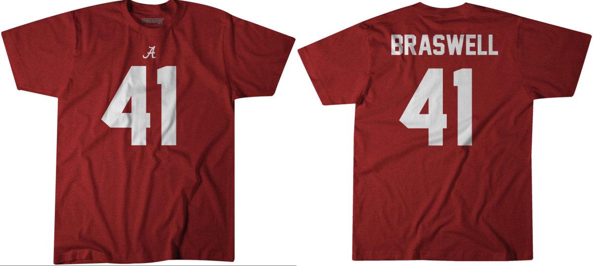 Chris Braswell's Breaking T shirt