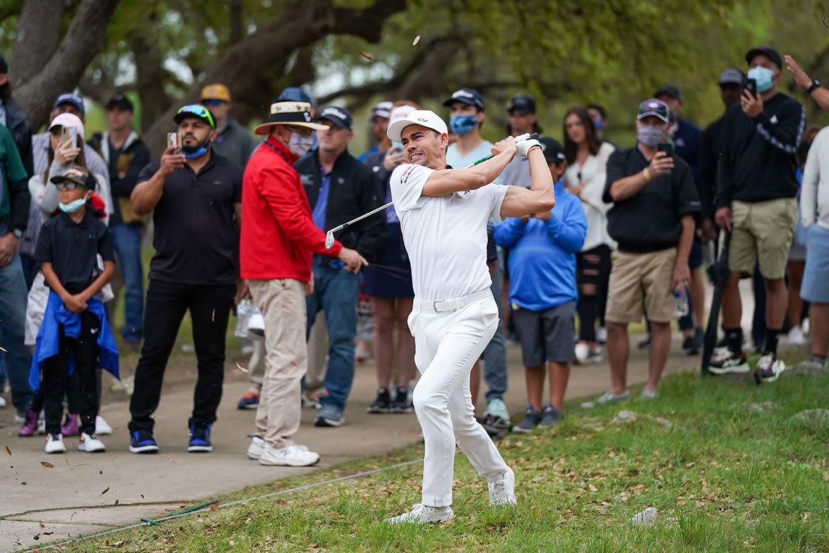 Camilo Villegas, pictured this year at the Texas Open, threw a monkey wrench into the inaugural playoffs.USA Today