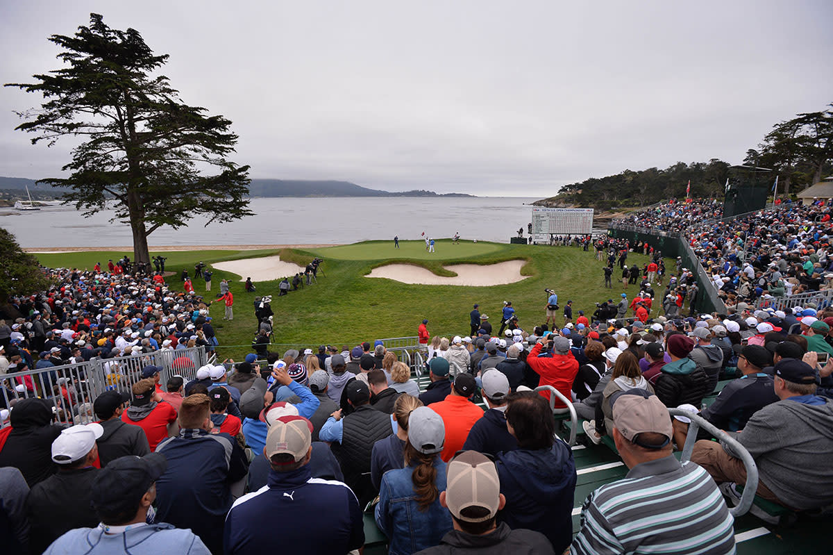 Pebble Beach is the perfect site for our proposed match-play finale.USA today