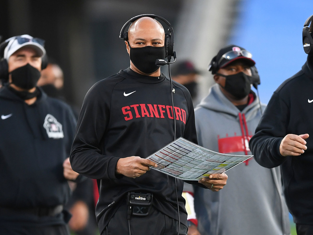 Stanford coach David Shaw