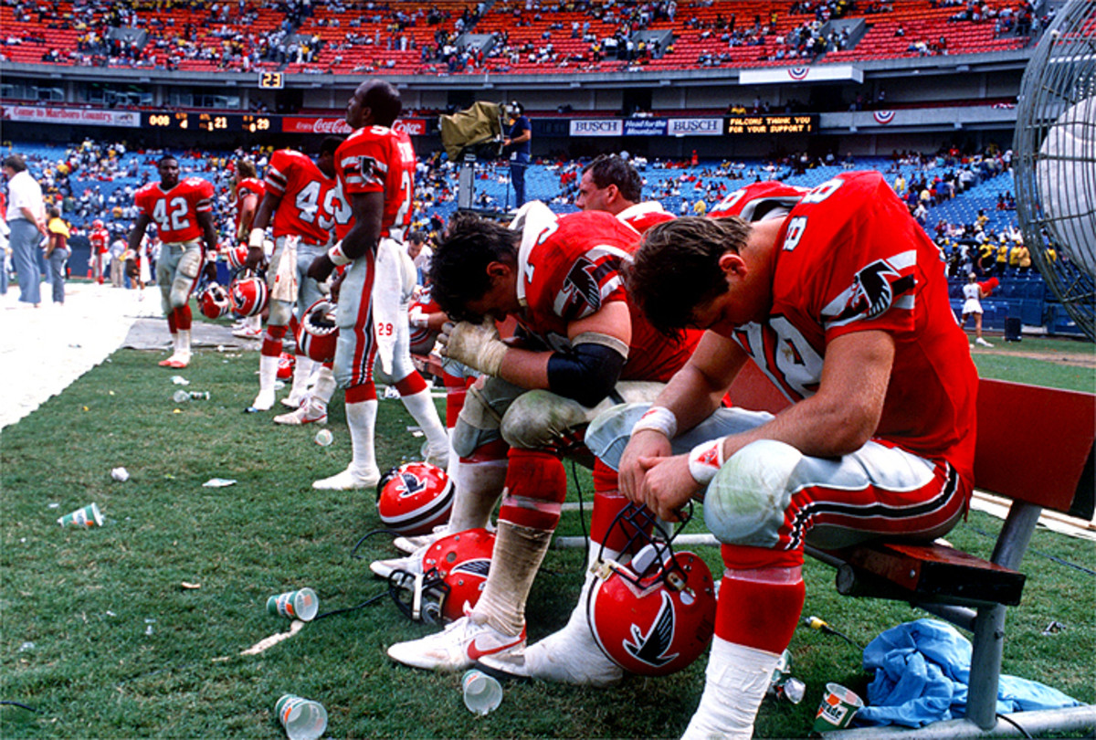 The 1989 Falcons saw just three wins, but it would be three off-field losses that stuck with the author.