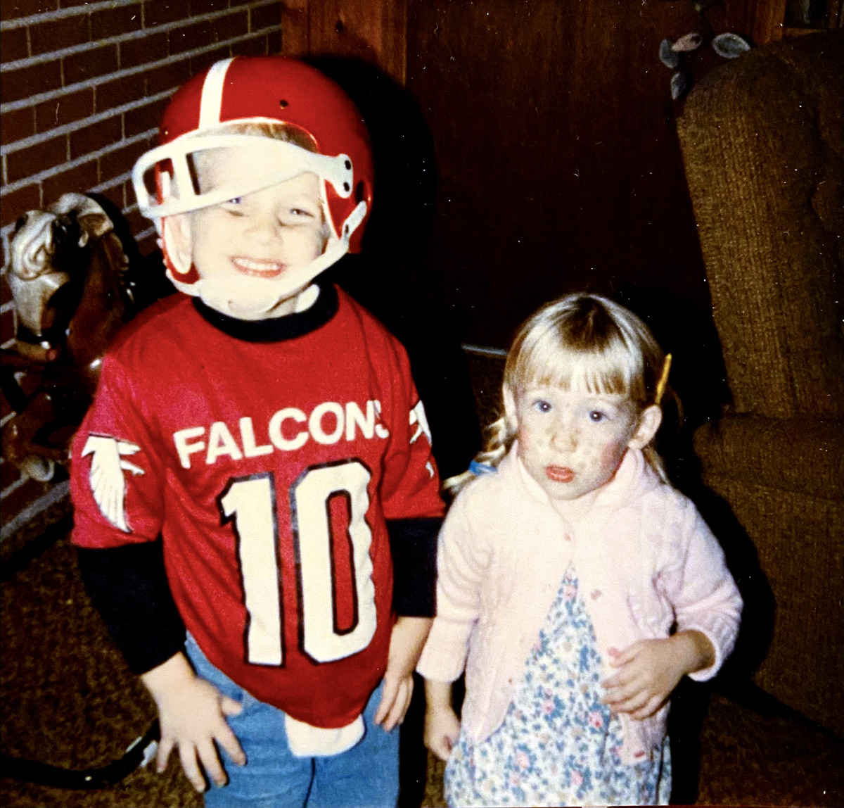 For the author and for the Falcons, there was a time before unrelenting pain.