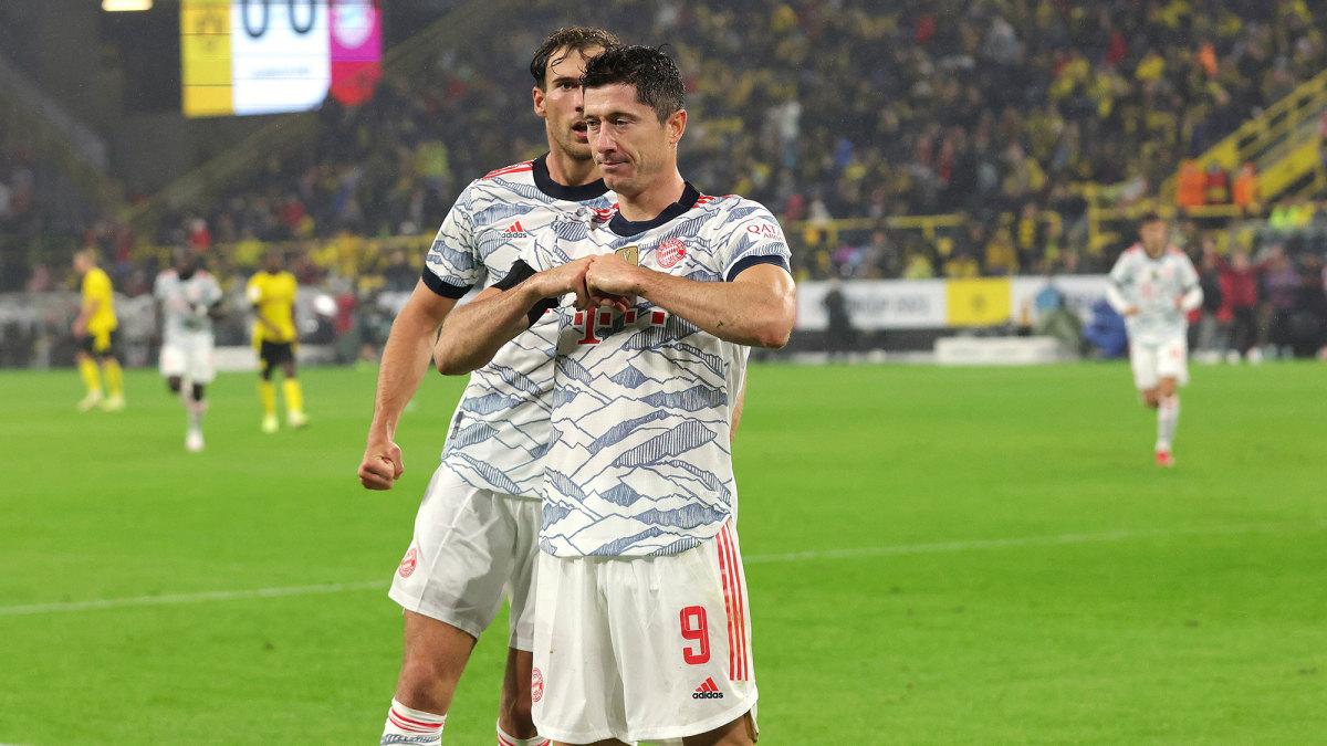 Lewandowski-Led Bayern Beats Dortmund to Win Super Cup