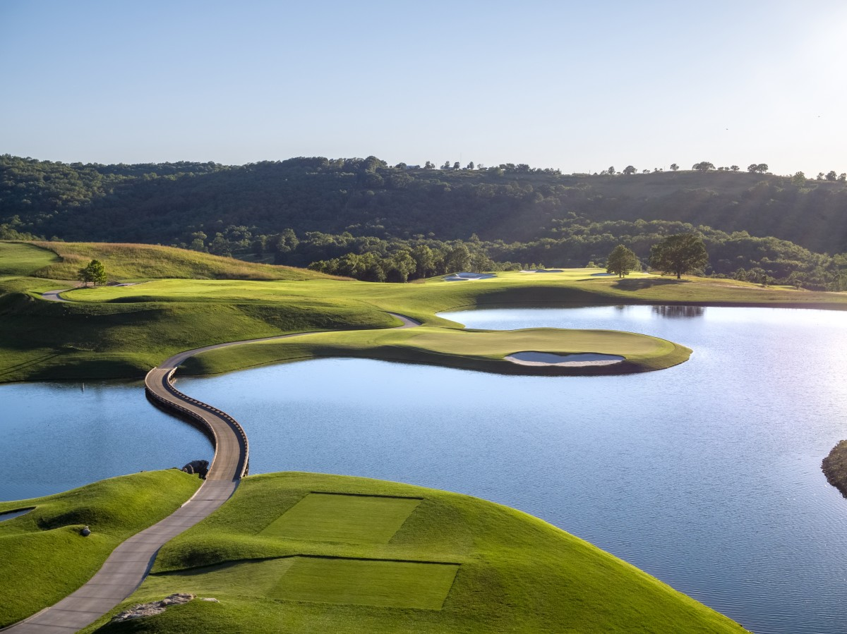 Less than a year old, the Tiger Woods-designed Payne's Valley has already impressed.