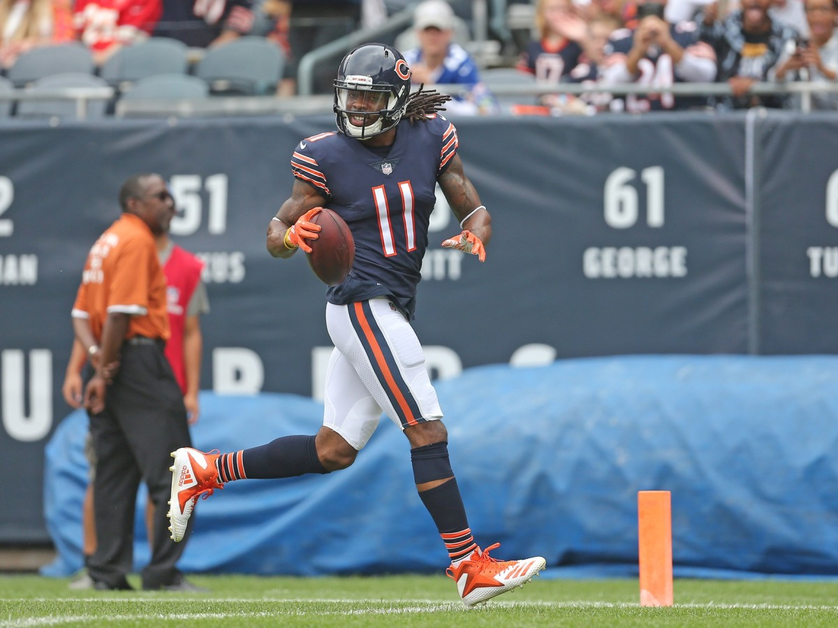 Chicago Bears wide receiver Kevin White (11) against the Kansas City Chiefs. Mandatory Credit: Dennis Wierzbicki-USA TODAY Sports