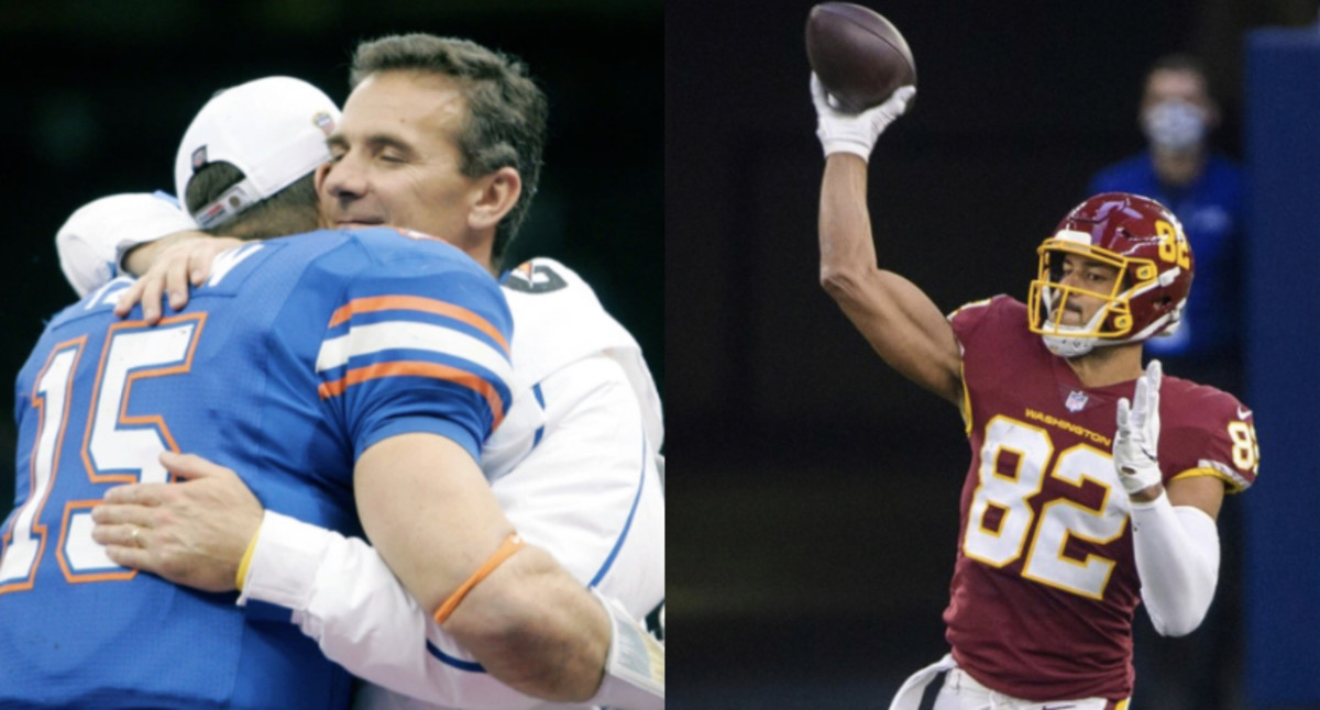 QB-to-TE: WFT Star Shows Tebow How It's Done