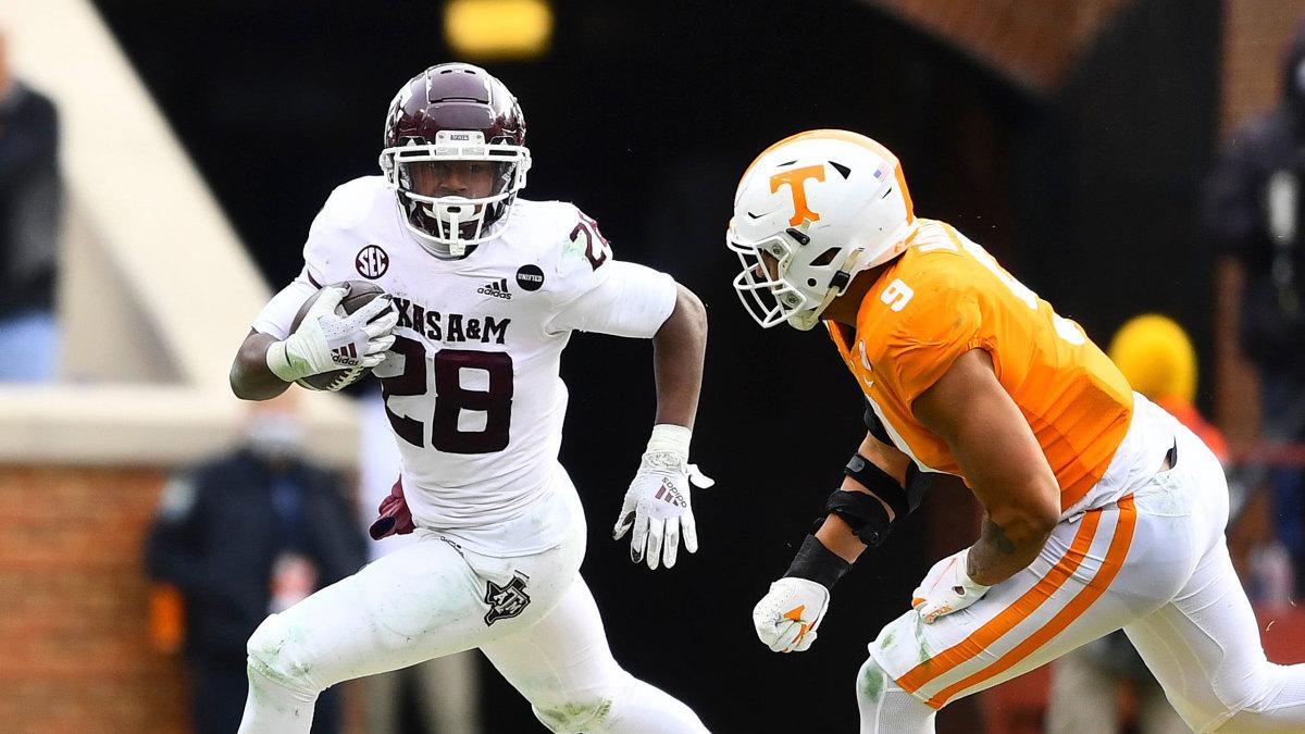 Texas A&M RB Isaiah Spiller