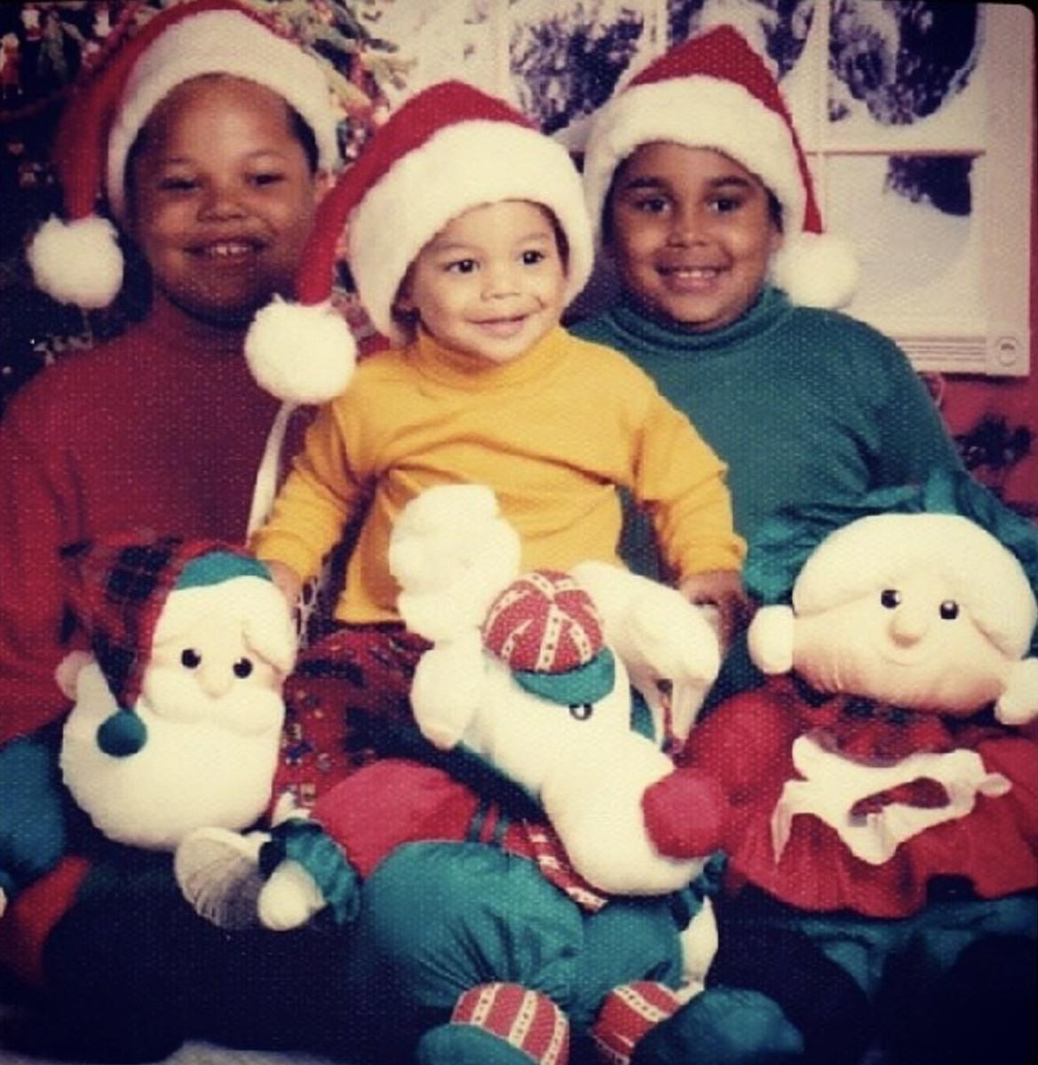 Jace, Dak and Tad Prescott as kids