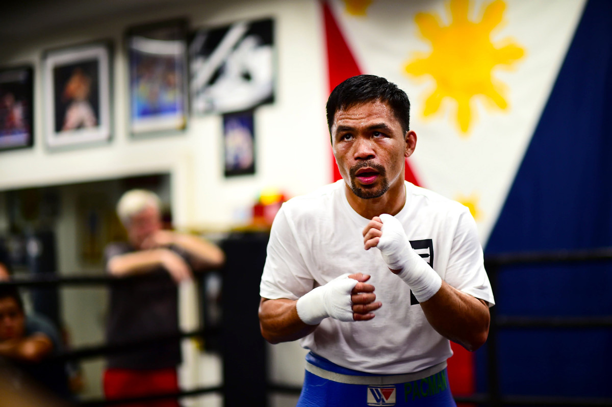 Manny Pacquiao would be an underdog in the presidential race—if he runs.