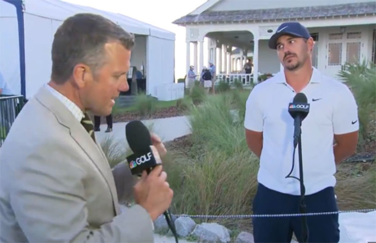 The Brooks Koepka eye-roll when Bryson DeChambeau walked through his interview was one of the highlights, or lowlights, of the Brooks-Bryson feud.
