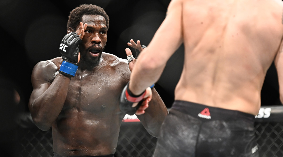 Jared Cannonier weekly takedown
