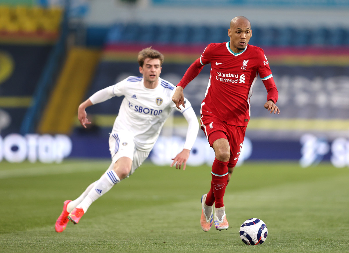 Fabinho will likely miss the Burnley game after the tragic death of his father.