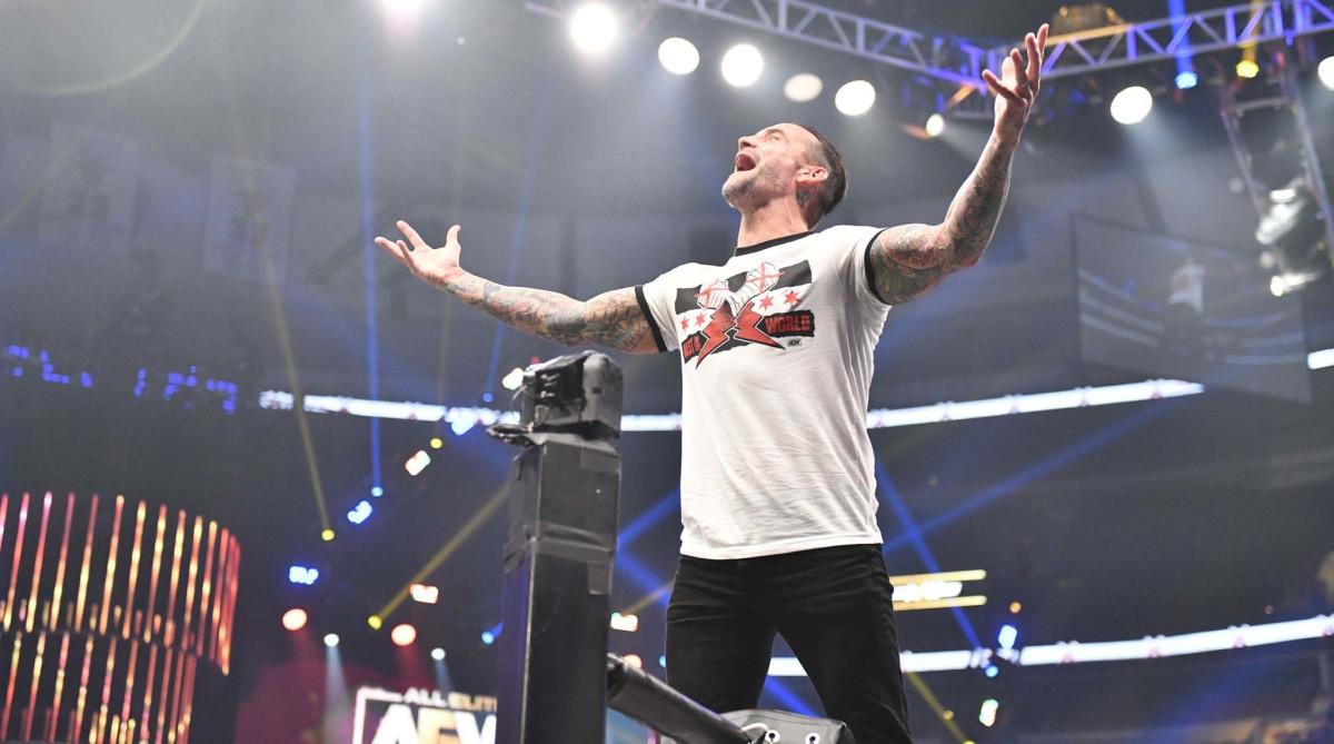 CM Punk Debuts in AEW: 'It's Limitless Prospects'