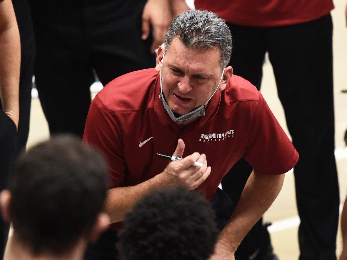 Washington State coach Kyle Smith