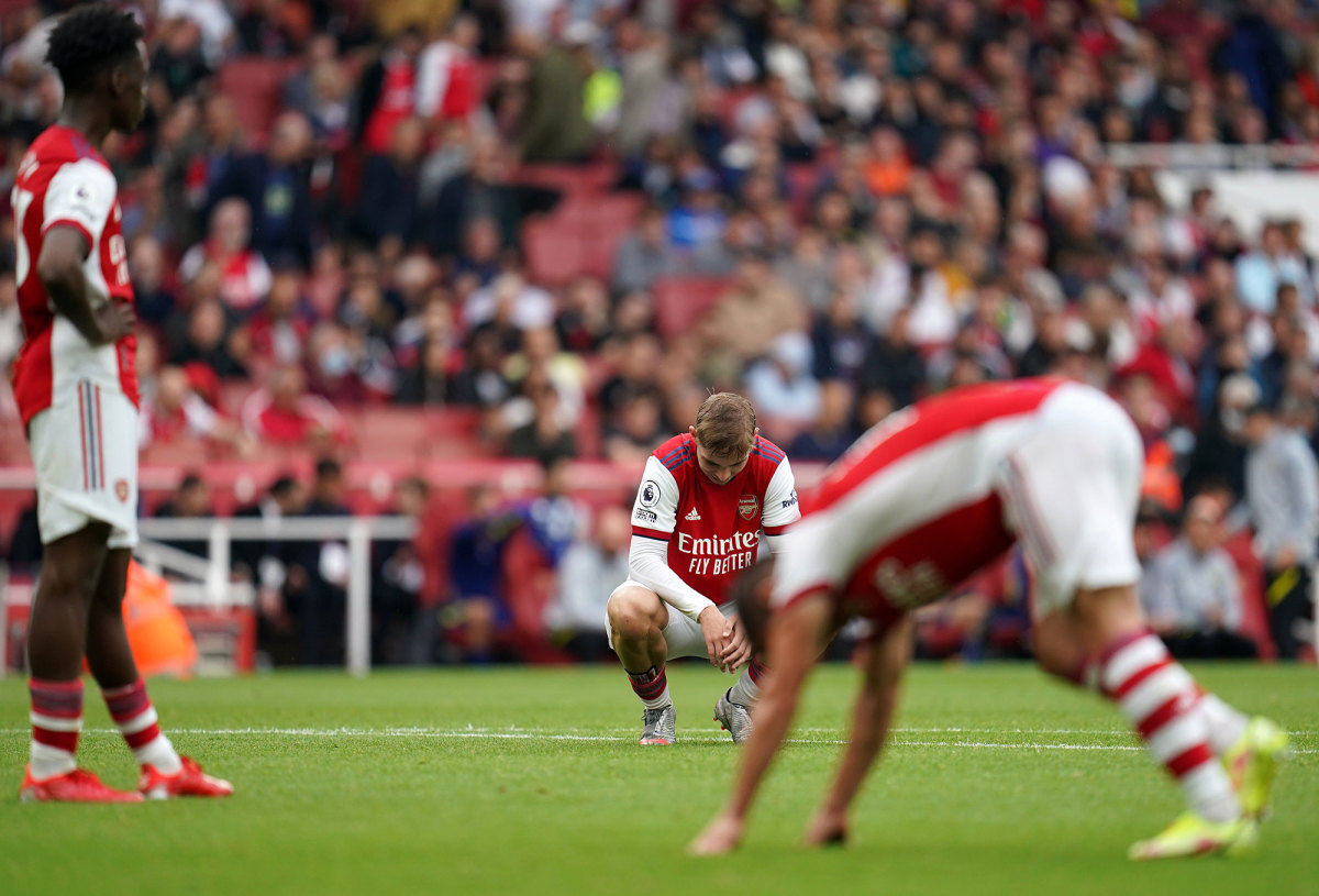 Arsenal loses to Chelsea in the Premier League