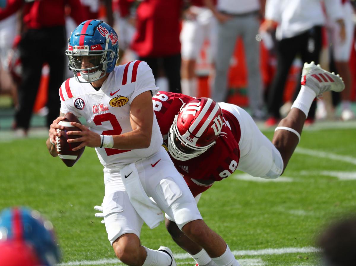 Matt Corrall, Quarterback, Ole Miss