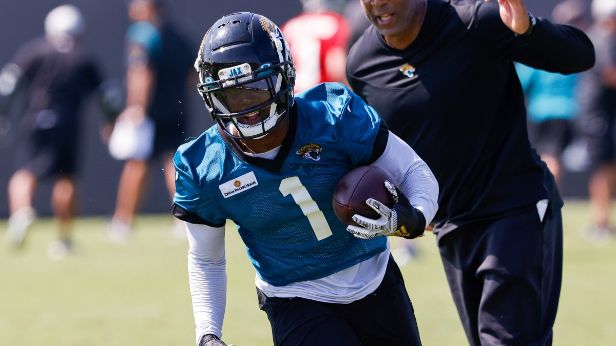 Travis Etienne is out indefinitely with a foot issue, according to the Jaguars.