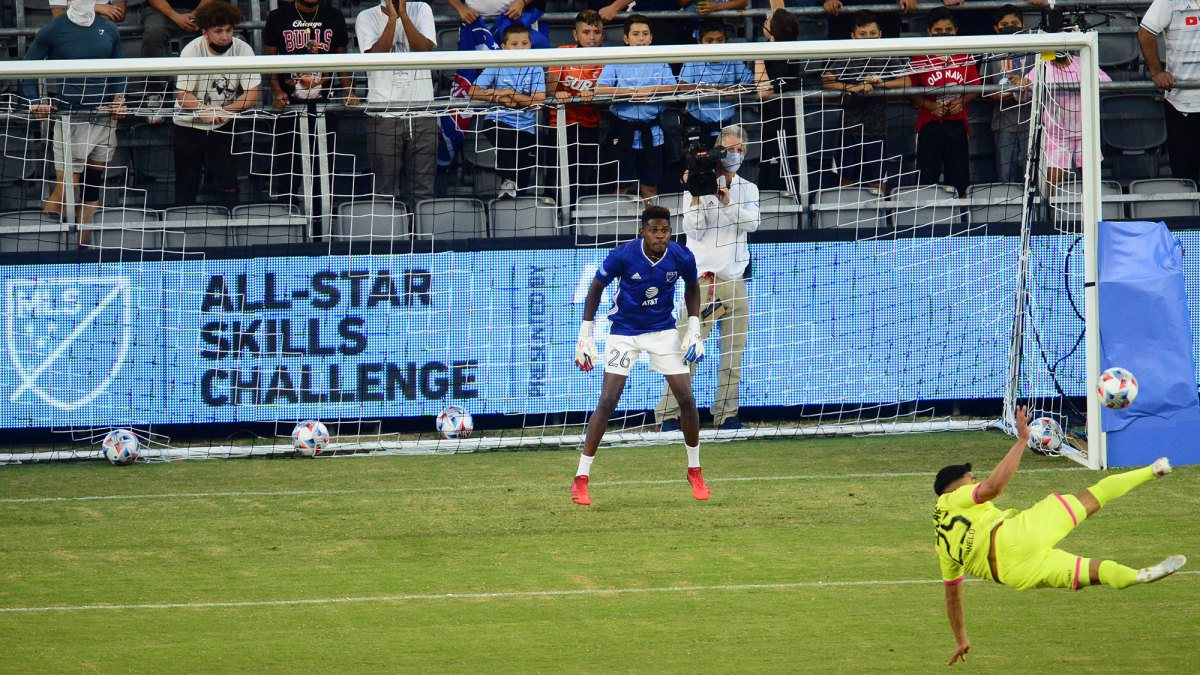 MLS and Liga MX take part in an All-Star skills challenge