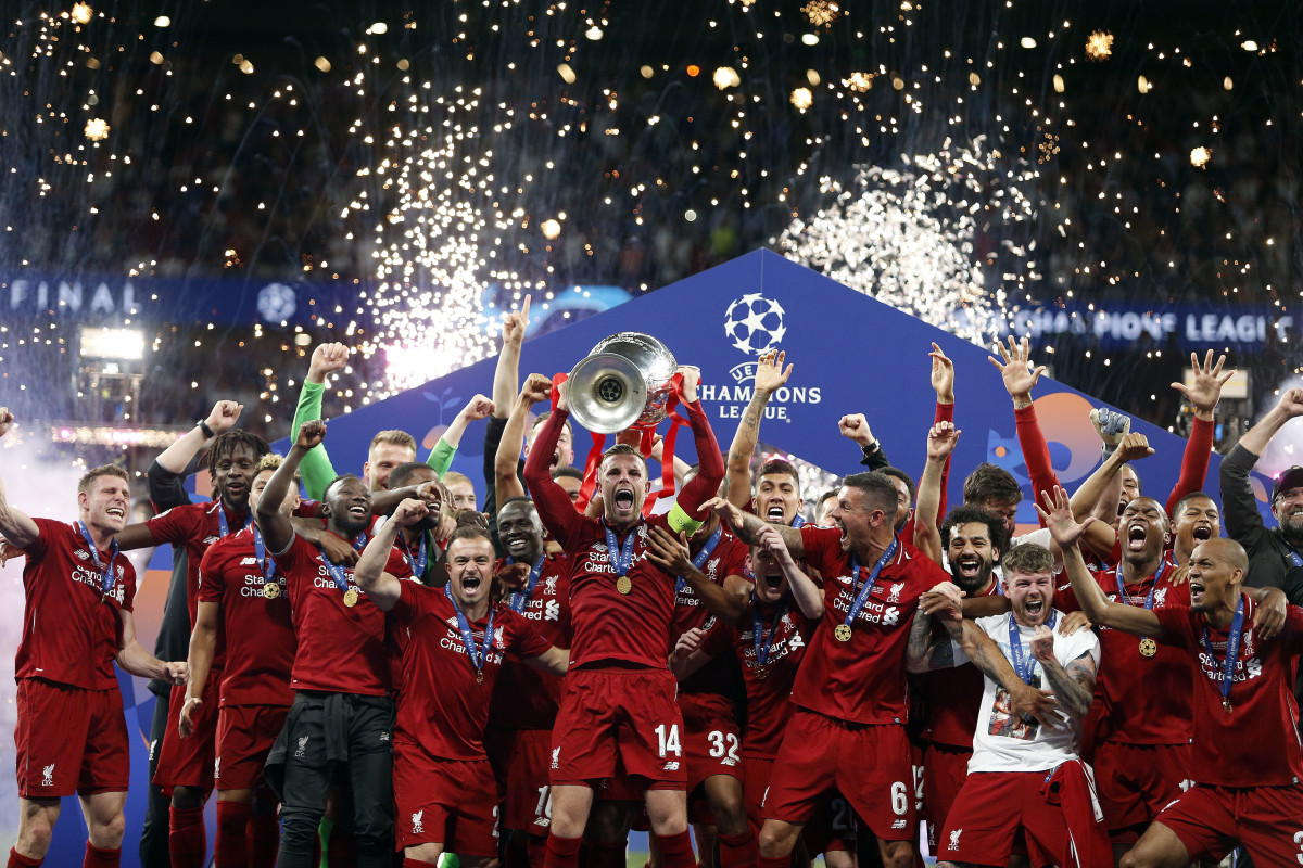Liverpool Champions League Win Madrid UCL