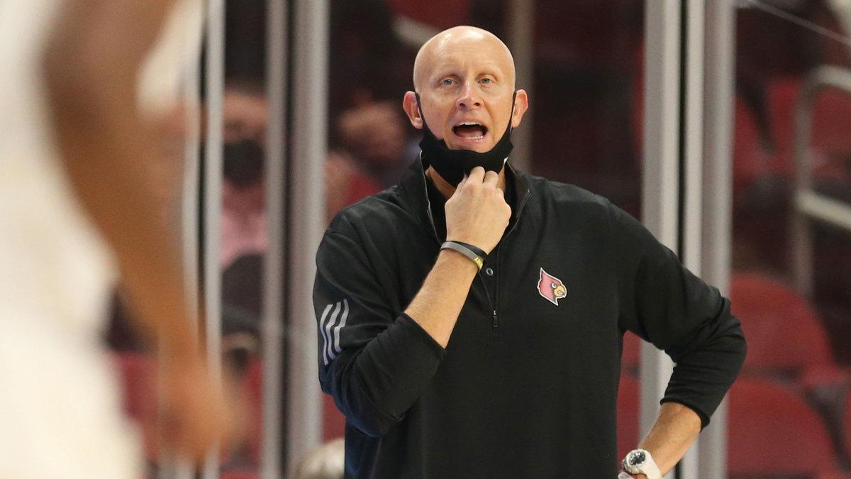 Louisville coach Chris Mack