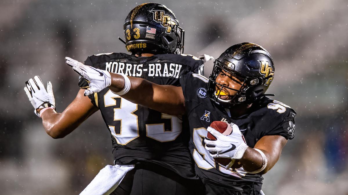 Tre'mon Morris-Brash Celebrates